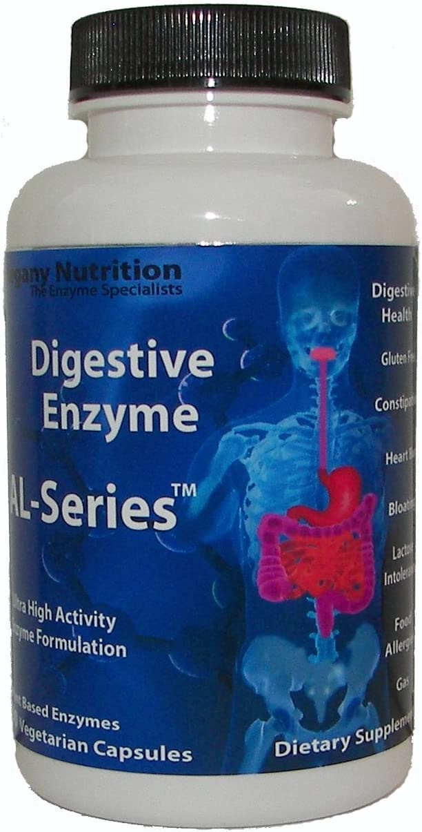 Allegany Nutrition Gluten Free Digestive Enzymes - 270 Count