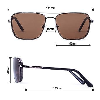 Amazon.com: Aviator Driving anteojos de sol Para Hombre ...