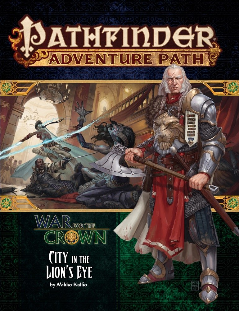Read Online Pathfinder Adventure Path: War for the Crown 4 of 6-City in the Lion's Eye ebook