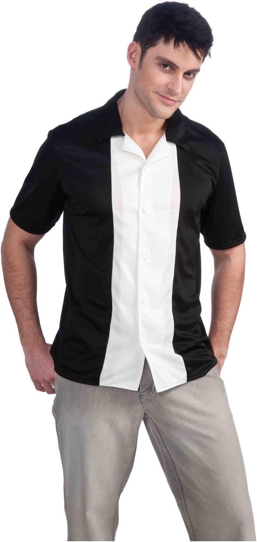 MyPartyShirt Camisa de Bolos con Botones de Charlie Harper ...