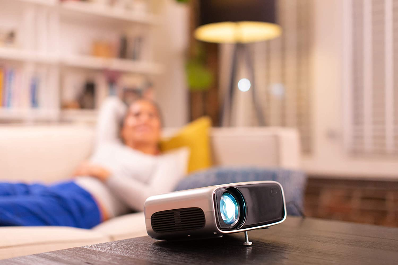 Philips Neopix Ultra 2 True Full Hd Projektor Mit Apps Und Integriertem Media Player Heimkino Tv Video
