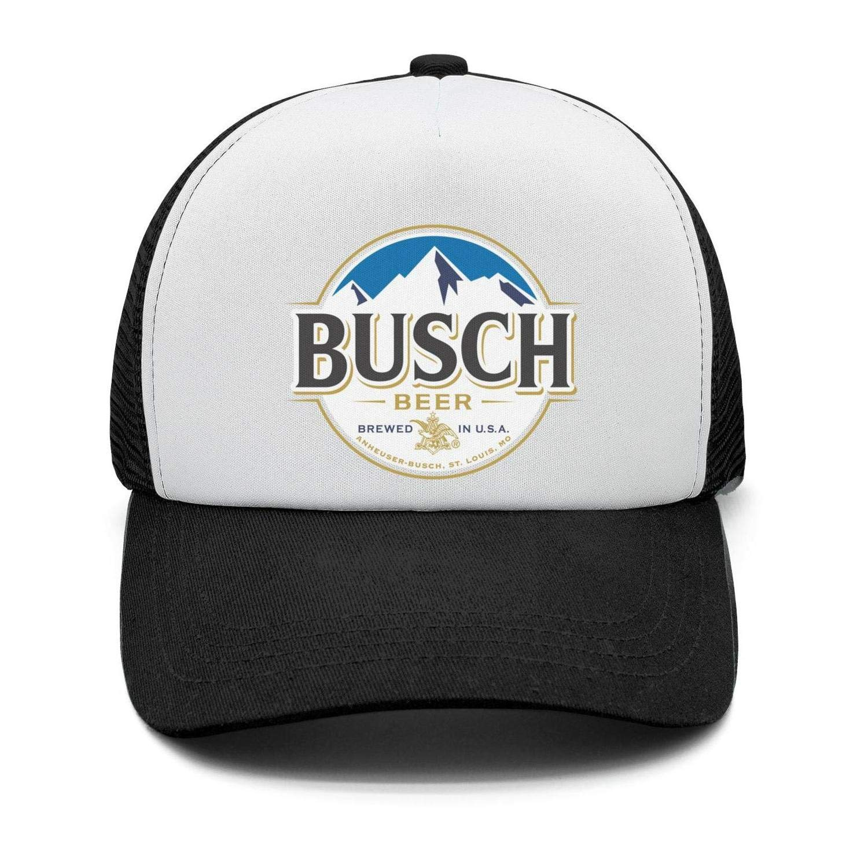 Adjustable Dad Cap Univeins Mens Pattern Baseball Hats Busch-Light-Busch-Latte-Beer
