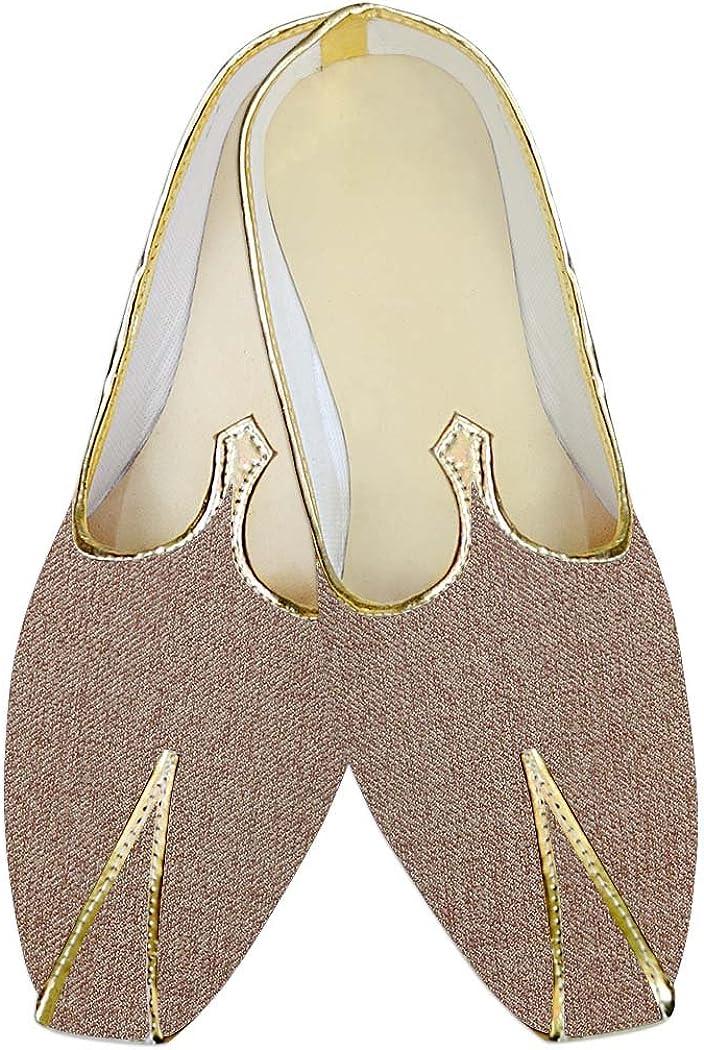 INMONARCH Traditional/Shoes for Men Copper Jute Wedding Shoes Juti MJ015145