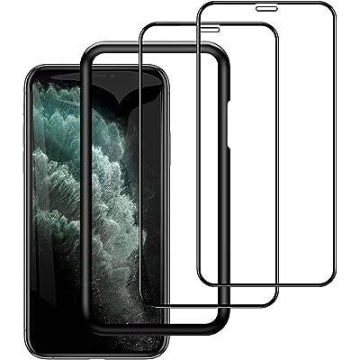 【2枚セット】Angma iPhone11 Pro/XS/X用 強化ガラスフィルム 2枚入セット 送料込199円