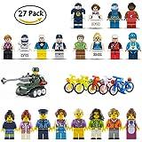 LAOZHOU 27 Mini figures Sets Building Bricks Mini People