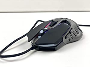 Bugha Exclusive LED Gaming Mouse 7-key/7200 dpi USB Wired for PC