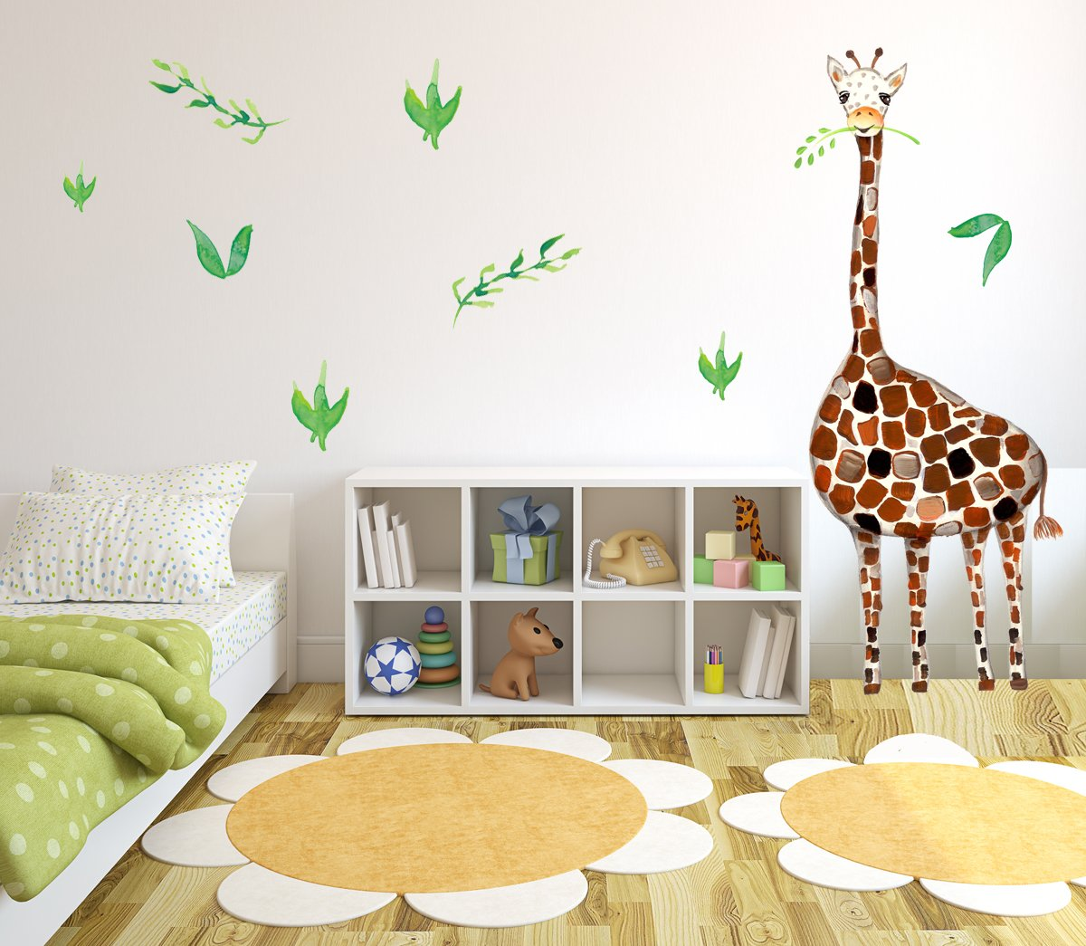 Amazon.com: Giraffe Wall Decal, Baby Room Nursery decor, Safari
