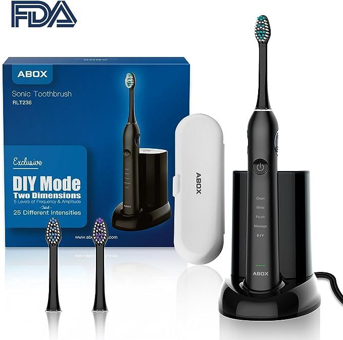 Cepillo de dientes eléctrico Sonic con control de placa