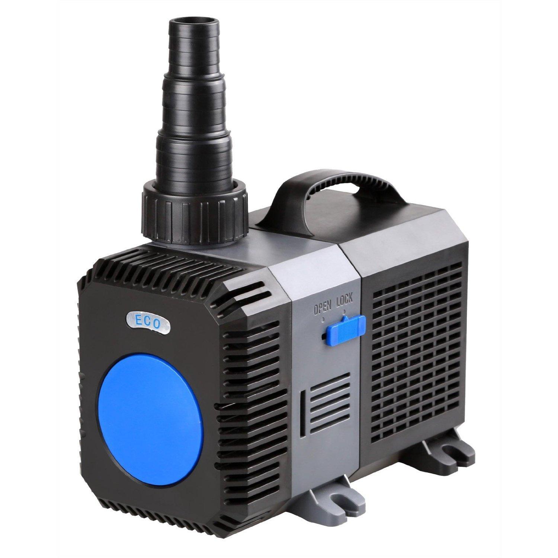 10000l/h 80W SuperECO Teichpumpe Bachlaufpumpe Filterpumpe CTP-10000