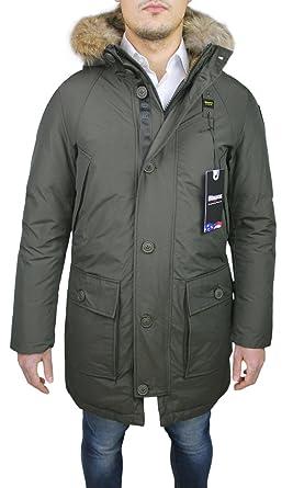 Blauer - Abrigo - Parka - para Hombre Verde XL: Amazon.es: Ropa y accesorios