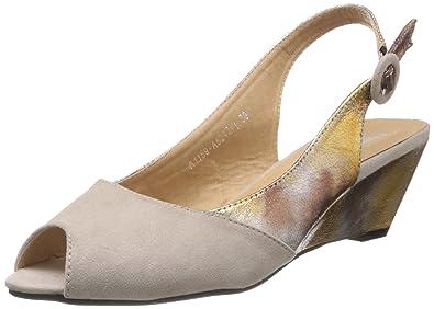 82ff8af8d889 Cobblerz Women s Brown Sandals - 6.5 UK 40 EU  Buy Online at Low ...