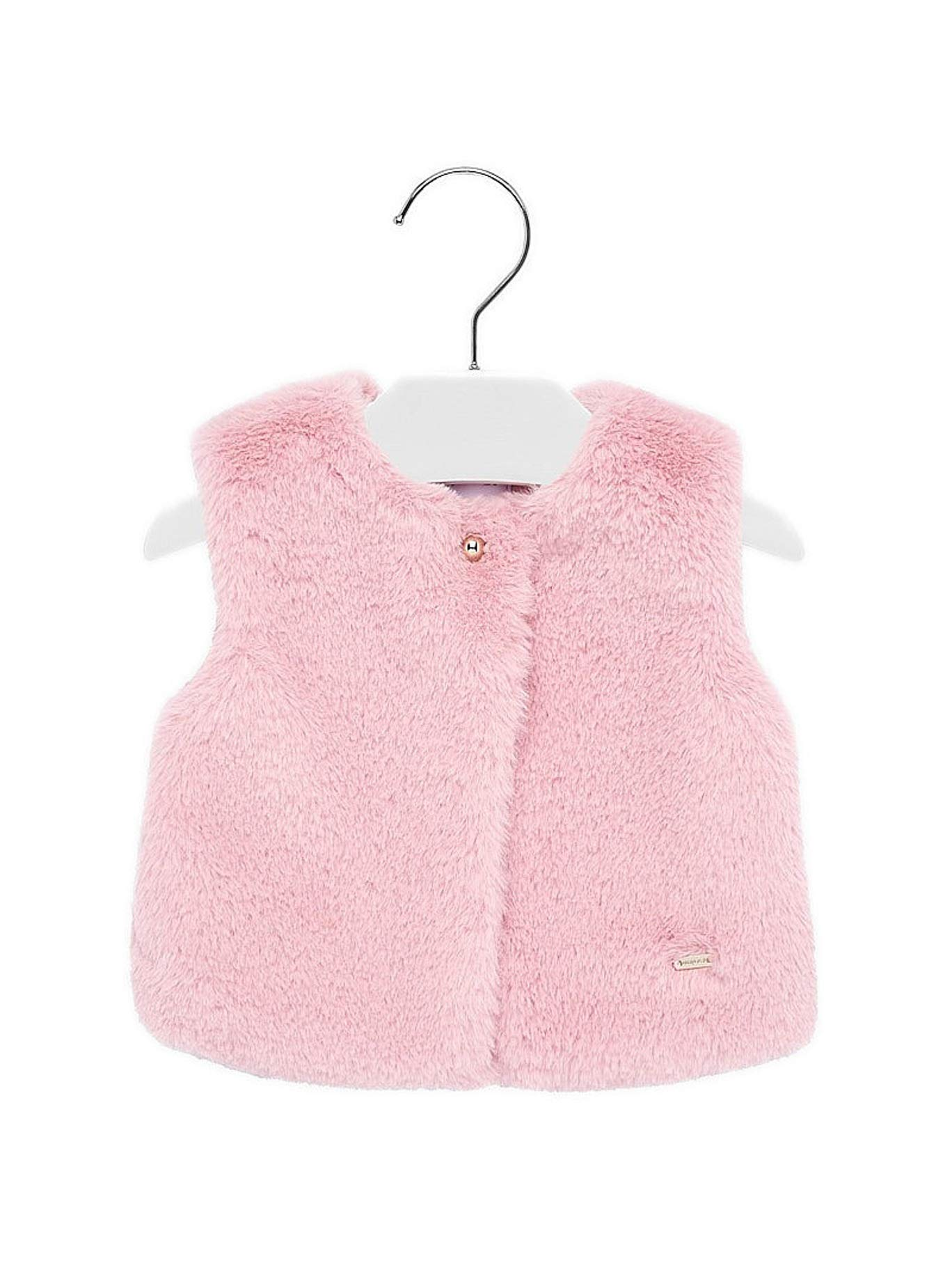Mayoral 19-02317-076 - Fur Vest for Baby-Girls 24 Months Rose by Mayoral