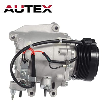 AUTEX AC Compressor and A/C Clutch Kit Upgrates Version CO 4918AC 38810RNAA02 1102577 97555