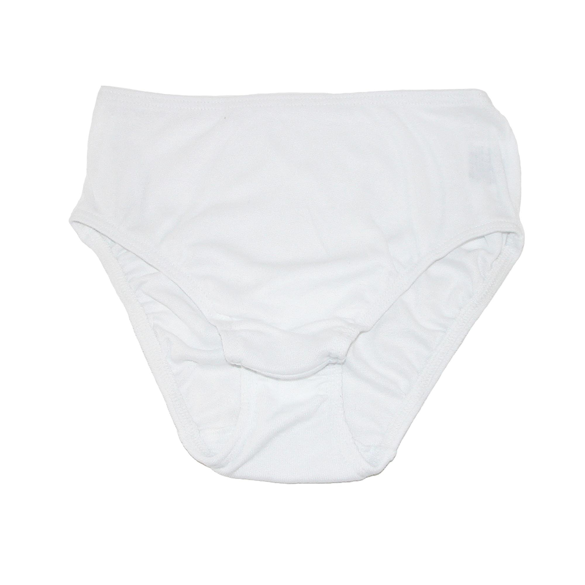 Tilley Women's TU11 High Cut Travel Briefs White L