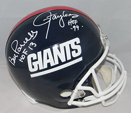 9765c98ea Lawrence Taylor   Bill Parcells Signed New York Giants Full Size Helmet -  JSA Certified