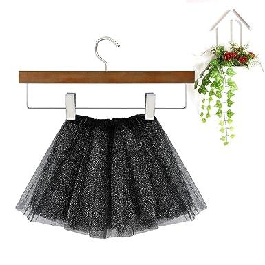 1cad2a896d5f Girls Kids Baby Dance Fluffy Solid Colour Sequins Tutu Skirt ...