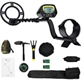 MARNUR Metal Detector for Kids and Adults with Pinpoint Waterproof Search Coil Backlit LCD Display High Accuracy…