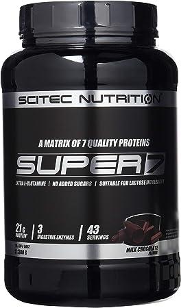 Scitec Nutrition Super 7 proteína chocolate con leche 1300 g