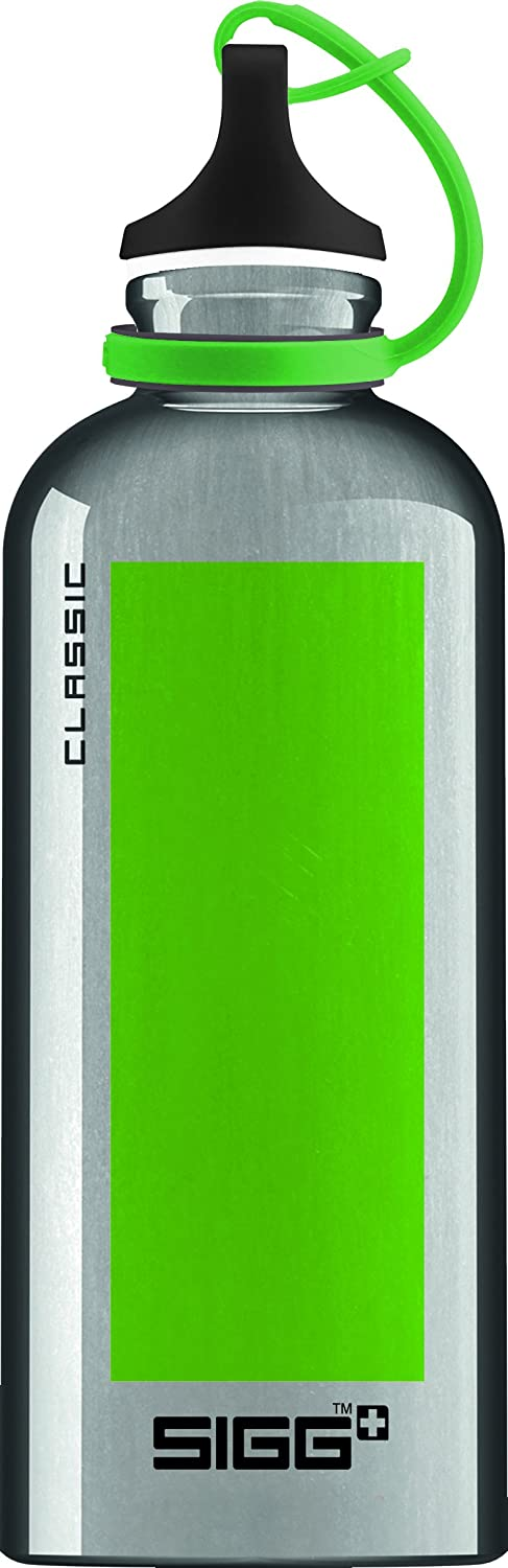 Sigg 8590.9Classic Accent Drinking Bottle 20 oz Green
