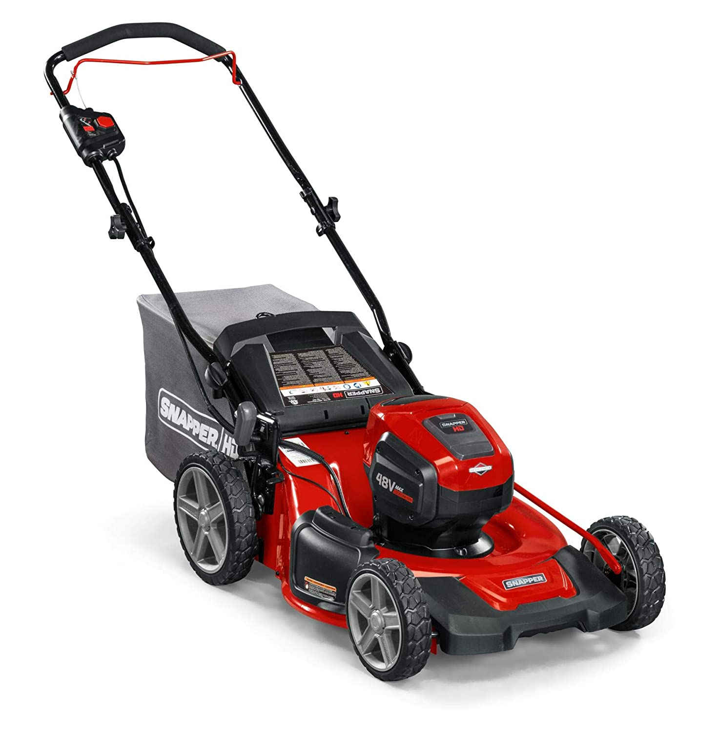 Snapper HD 48V MAX Electric Cordless Lawnmower  Snapper Lawn Mower Reviews
