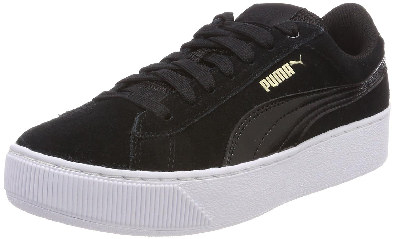Puma Damen Vikky Platform Weiß Sneaker, Schwarz (Puma schwarz-puma Weiß Platform 05) e5f9cf