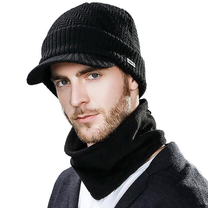 Cappello in maglia di lana Newsboy Siggi 08b87ead4553