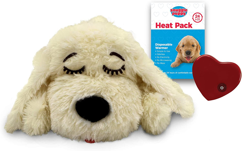 Smartpetlove Snuggle Puppy Behavioral Aid Toy Golden Pet Supplies