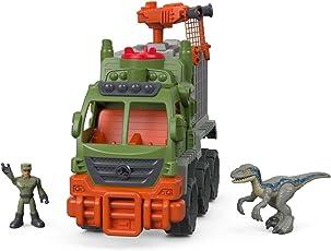 Fisher-Price Playset Imaginext Jurassic World Transportador de Dinosaurios