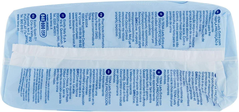 Pack of 10 Sanitary napkins Tena Lady Extra 3X Protection