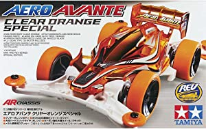 Four Wheel Drive Mini Limited Series Mini 4wd Aero Avante Clear Orange Specials