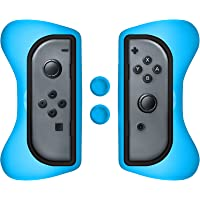 Surge Grip Kit, Joy-Con & Thumb Grips - Red/Blue - Nintendo Switch