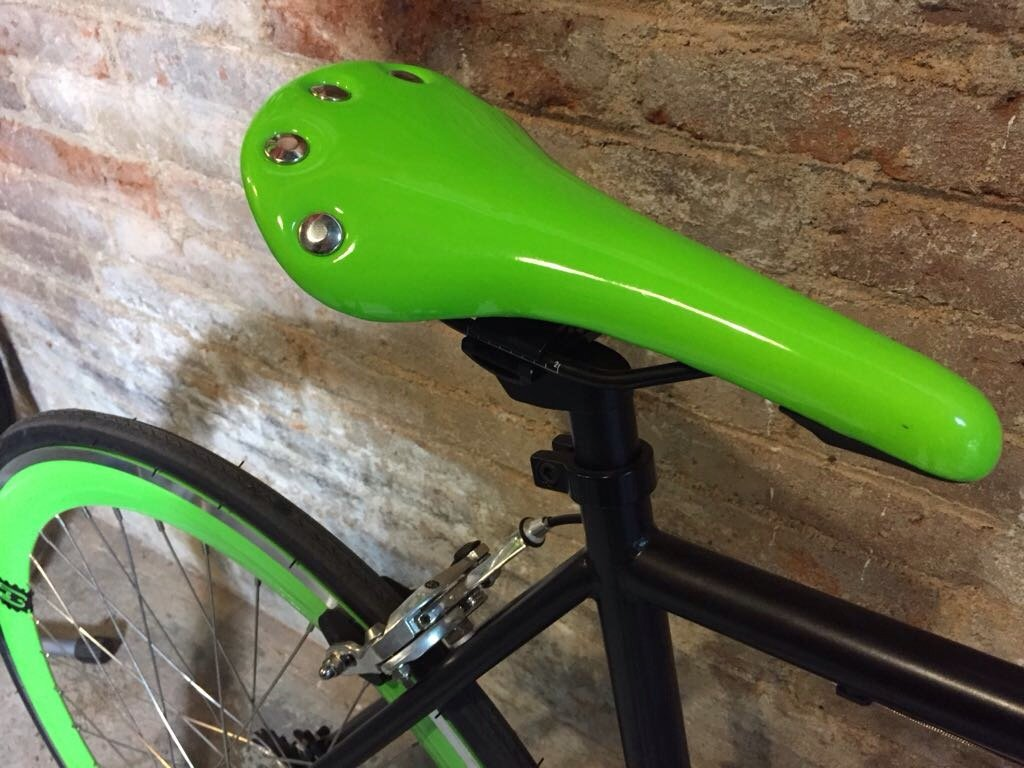 V/élo Fix Black and Green Taille 56... monomarcha Fixie//single speed