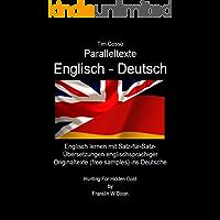 """Paralleltexte Englisch - Deutsch: """"Hunting For Hidden Gold"""" (by Franklin W. Dixon): Englisch lernen mit Satz-für-Satz…"""