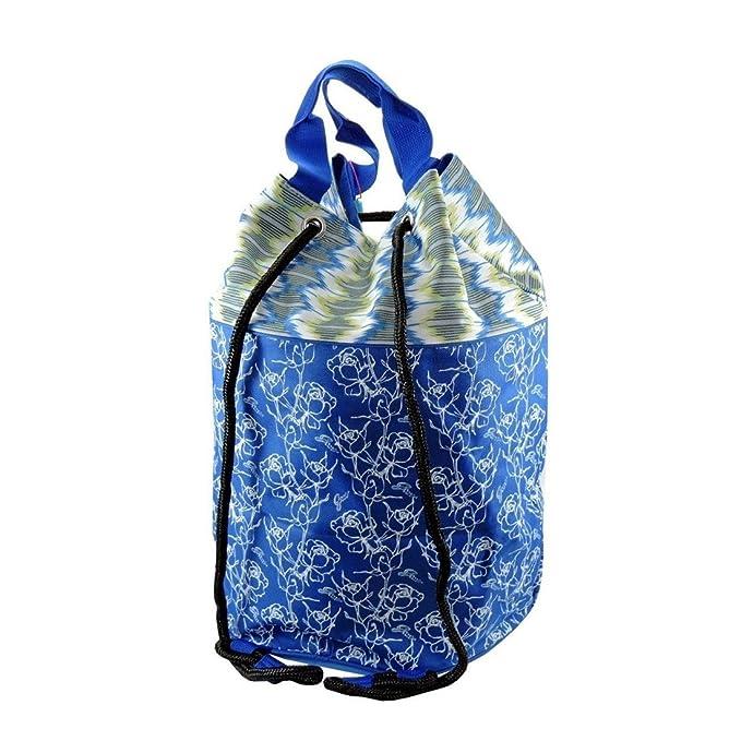 GIANMARCO VENTURI Borsa mare piscina GMV a sacco donna a spalla Blu cod   15113  Amazon.it  Abbigliamento f5d2c832b48