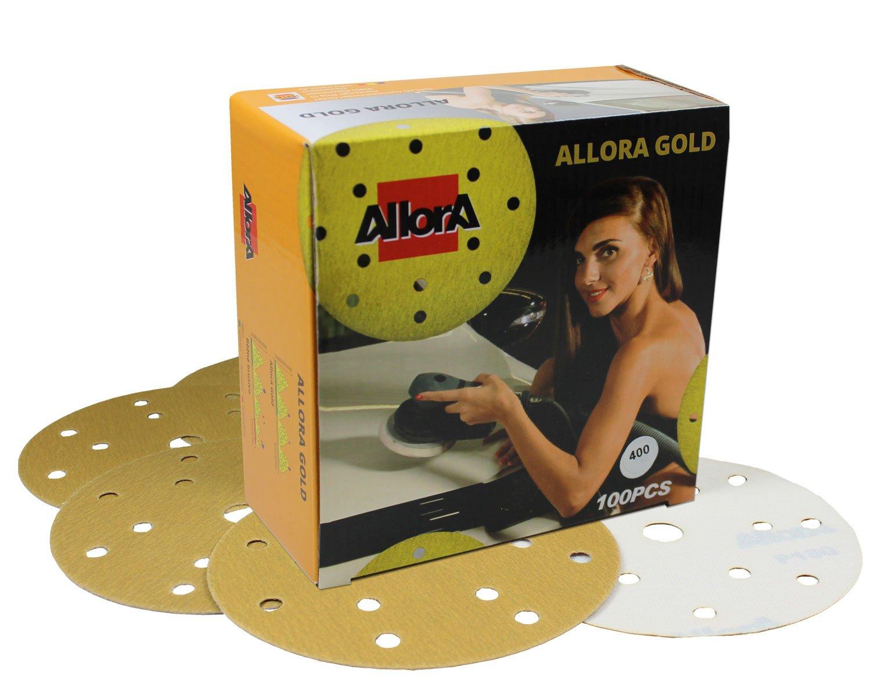 AllorA or disques p240 d150mm 15 disques trous de 100 feuilles