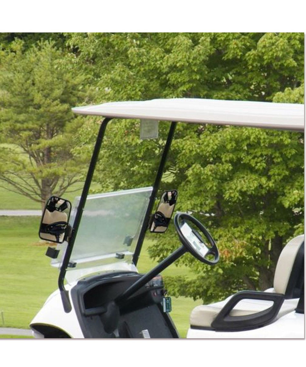 Valchoose Golf Cart Side Mirrors for EZGO Club Car Yamaha, Foldable Golf Cart Accessories by Valchoose (Image #6)