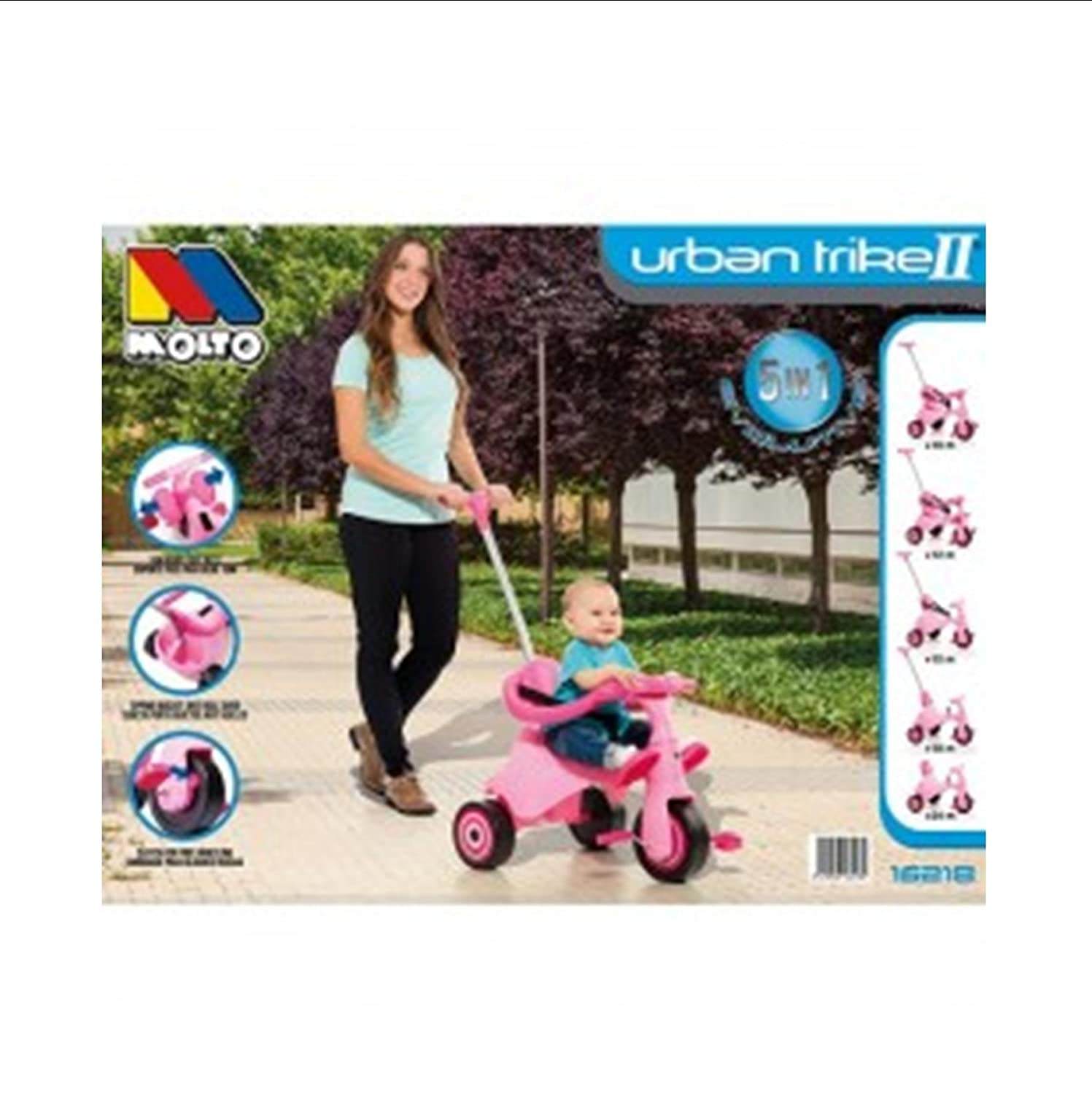 Triciclo infantil Molto Urban Trike II City Girl