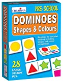 Creative Educational Aids 0651 Dominoes - Shapes and Colours
