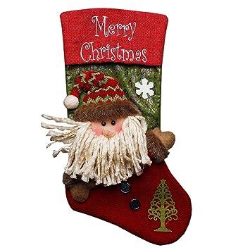 christmas stockings zojoro 18 stylish santa claus gift bags 3d christmas stockings lovely festival - Xmas Stockings