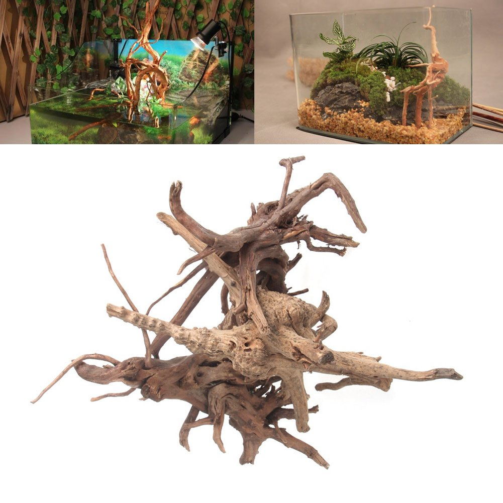 adorno de decoraci/ón Large /Árbol de madera natural para tronco de acuario o pecera