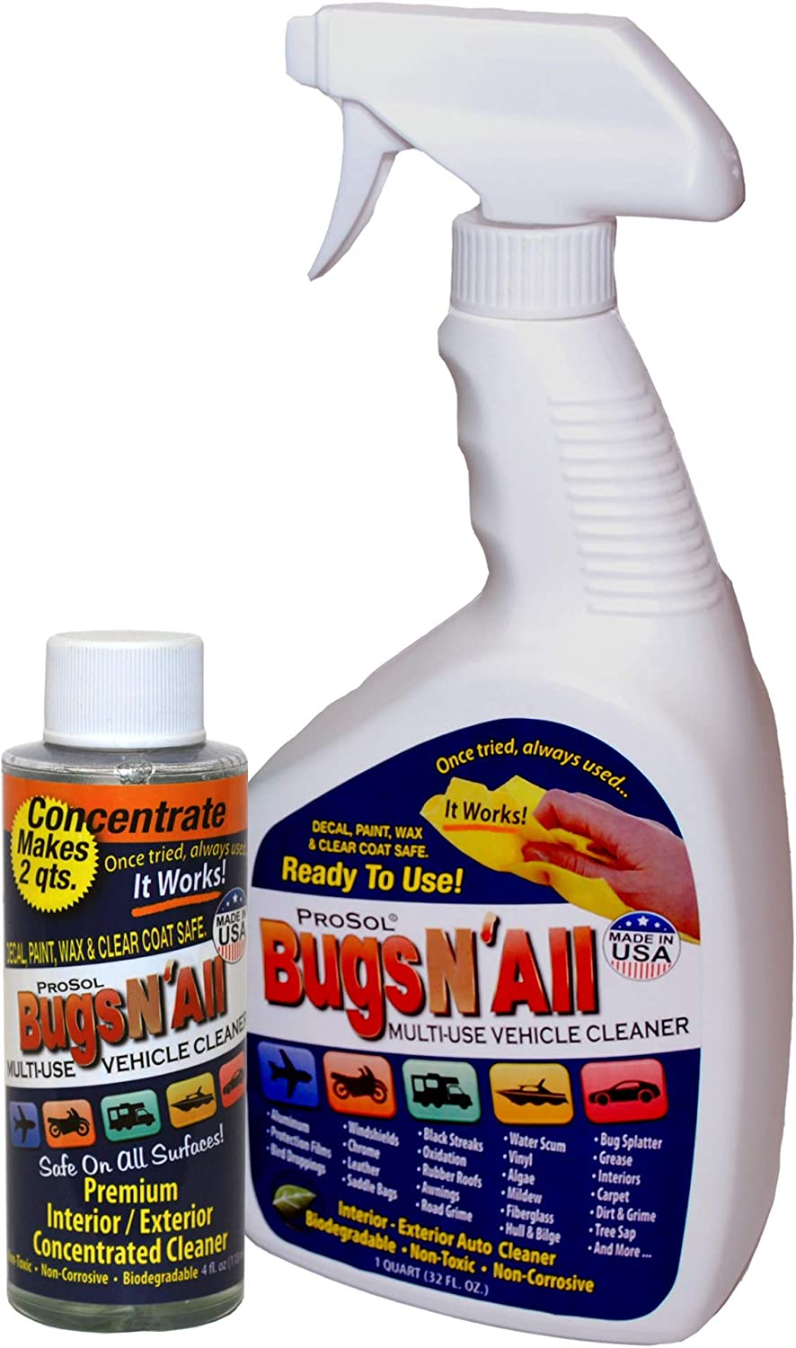 Bugs N All Interior and Exterior Vehicle Cleaner