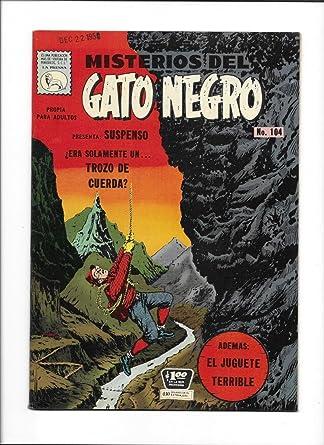 Amazon.com: MISTERIOS DEL GATO NEGRO #104 [1959 FN-VF] MEXICAN COPY MOUNTAIN CLIMBER COVER: Entertainment Collectibles