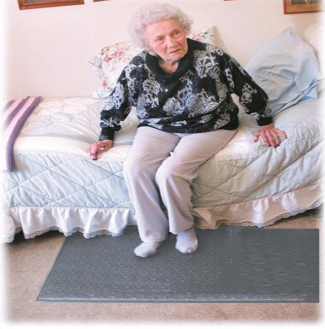 Floor Mat Alarm System for Preventing Falls & Wandering - Plus Kerr Absorbent Protector Pads