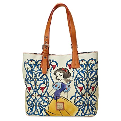 1fad4280d9 Amazon.com: Disney Dooney & Bourke Princess Snow White Emily Tote Bag Purse:  Sports & Outdoors