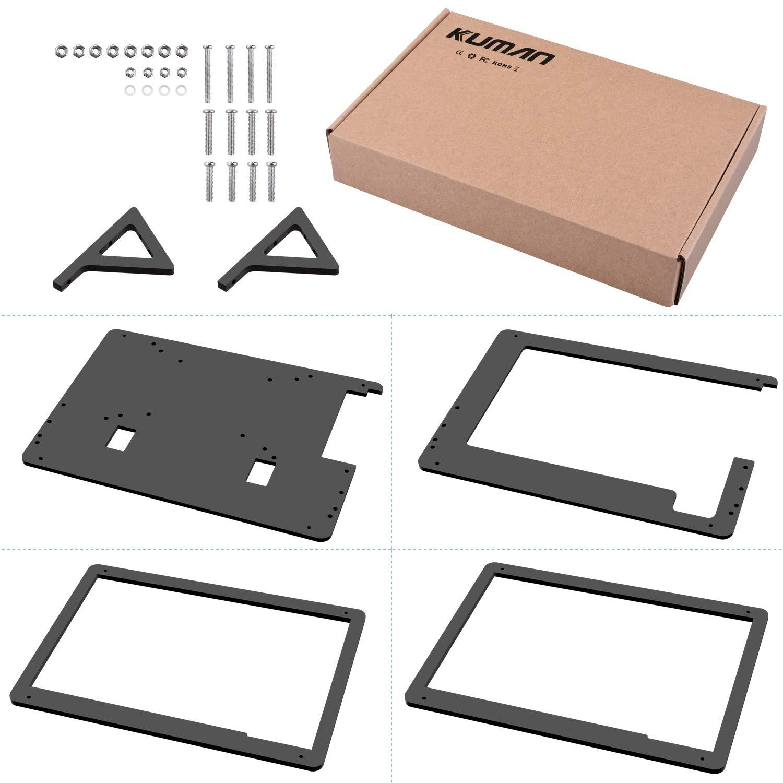 Kuman 7 inch Raspberry Pi Touch Screen Case Holder by kuman (Image #6)