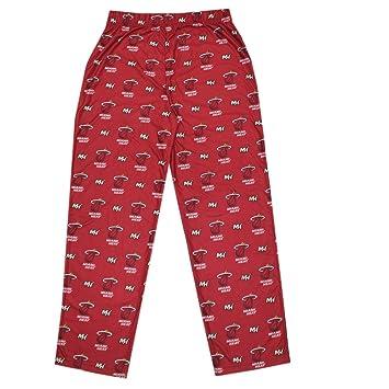 NBA Big & Tall Miami Heat – Forro polar de pantalones de pijama, hombre,
