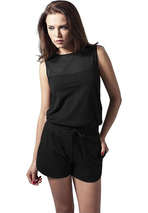 Urban Classics Ladies Tech Mesh Hot Jumpsuit Streetwear Chándal ...