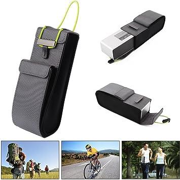 XCSOURCE® Estuche Cuero Protector Almacenaje Viajero Portátil para Mini Parlante Bluetooth Bose SoundLink PC644: Amazon.es: Electrónica