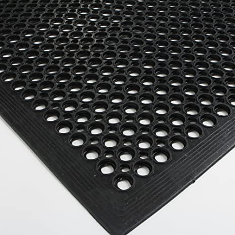 Amazing FCH Rubber Floor Mat, 36x60 Inch Anti Fatigue Drainage Mat, For Wet Areas