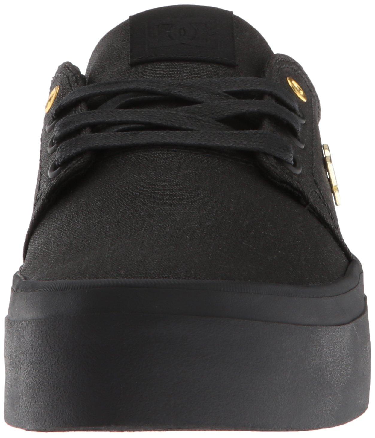 DC Women's Trase Shoe Platform TX SE Skate Shoe Trase B07852J2K1 5.5 M US|Black/Black 7bbbde
